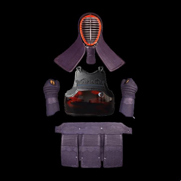 剣道防具のサンプルデザイン1:表