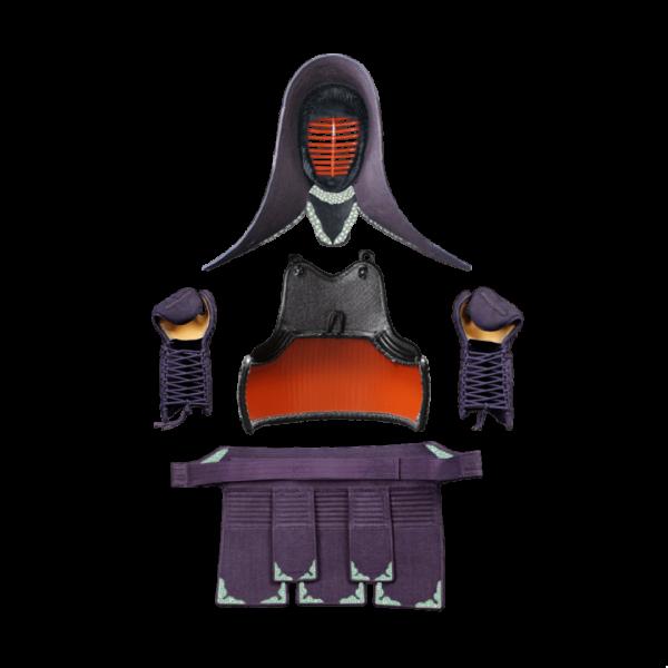 剣道防具のサンプルデザイン2:裏