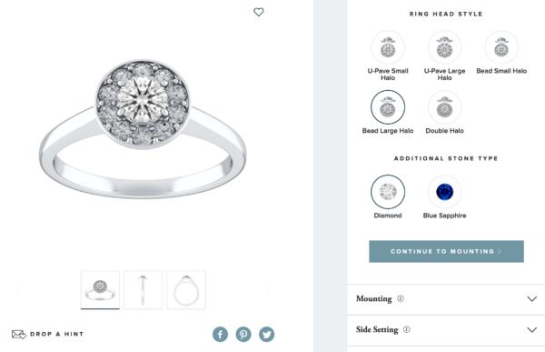 オーダメイド指輪をカスタムできるECサイト:REEDS