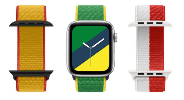 時計のカスタムができるApple Watchのページ